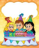 Kids party theme image 2 Royalty Free Stock Photography