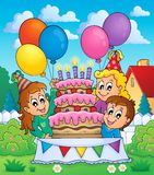 Kids party theme image 5 Royalty Free Stock Photography