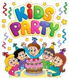 Kids party topic image 7 Stock Photos