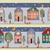 Kids patchwork seamless pattern Royalty Free Stock Photos