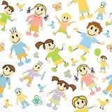 Kids pattern Stock Photos