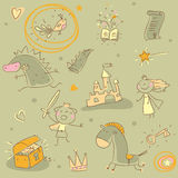 Kids pattern Stock Images