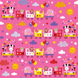 Kids pattern Royalty Free Stock Photos