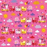 Kids pattern Royalty Free Stock Photos