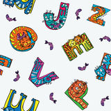 Kids pattern Royalty Free Stock Photo