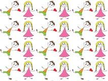 Kids pattern Stock Photo