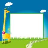 Kids photo frame/poster boundary Royalty Free Stock Image