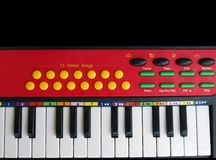 Kids piano Royalty Free Stock Photo