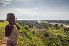 Kids place - livingstone and stanley burundi Royalty Free Stock Photography