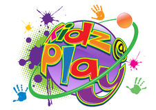 Kids at play Stock Image