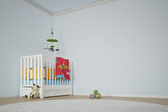 Kids play room with bed Royalty Free Stock Photo