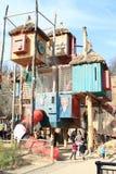 Kids playground Bororo royalty free stock photo
