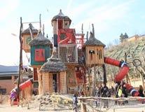 Kids playground Bororo royalty free stock images