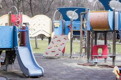 Kids playground Royalty Free Stock Images