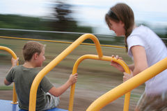 Kids Playground Fun Stock Image
