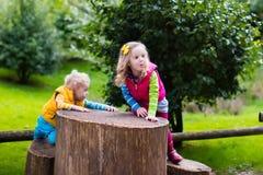 Kids on a playground Stock Image
