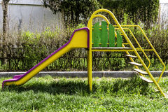 Kids playground. In a park Royalty Free Stock Photos