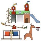Kids playground. royalty free illustration