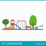 Kids playground set. Stock Photos