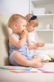 Kids playing Stock Image