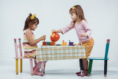 Kids playing Royalty Free Stock Images