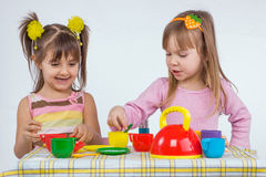 Kids playing Royalty Free Stock Image