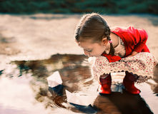 Kids portrait Stock Image