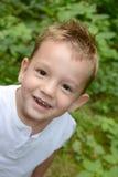 Kids Portrait - Little laughing boy - Stock Photography