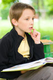 Kids reading Stock Image