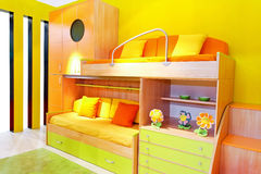 Kids room angle Stock Photo