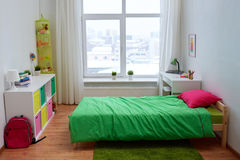 Kids room interior with bed and accessories Royalty Free Stock Image