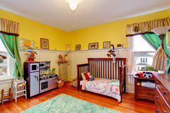 Kids room interior royalty free stock images