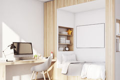 Kids room with pc Stock Photos