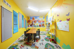 Kids room of restaurant in Neva cinema Royalty Free Stock Photo