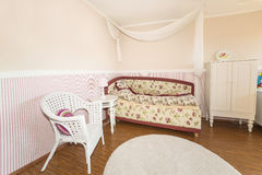 Kids room for small girl. Royalty Free Stock Photos