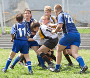 Kids rugby match. Stock Photography