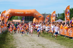 Kids Run for KIKA - Almere, The Netherlands, Stock Photos