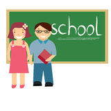 Kids at school Royalty Free Stock Images