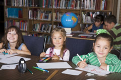 Kids at School Stock Photo