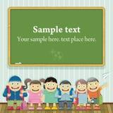 Kids in School bo Stock Image