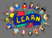 Kids School Education Learn Wisdom Young Concept Royalty Free Stock Photo
