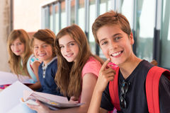 Kids in School Stock Photography