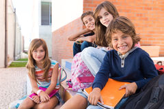 Kids in School Royalty Free Stock Photo