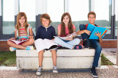 Kids in School Royalty Free Stock Image
