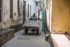 School kids. Stone Town, Zanzibar. Tanzania royalty free stock images