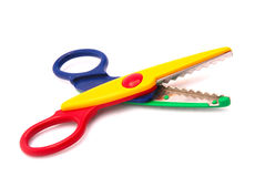kids scissors Royaltyfri Bild