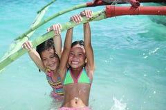 Kids At The Sea Royalty Free Stock Photo