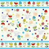 Kids seamless pattern Stock Photos
