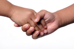 Kids Shaking Hands Royalty Free Stock Photography