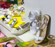Kids shoes Royalty Free Stock Images